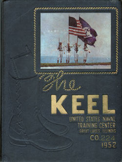 Front Cover, Navy Boot Camp 1952 Company 244 The Keel