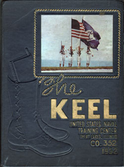 Front Cover, Navy Boot Camp 1952 Company 352 The Keel