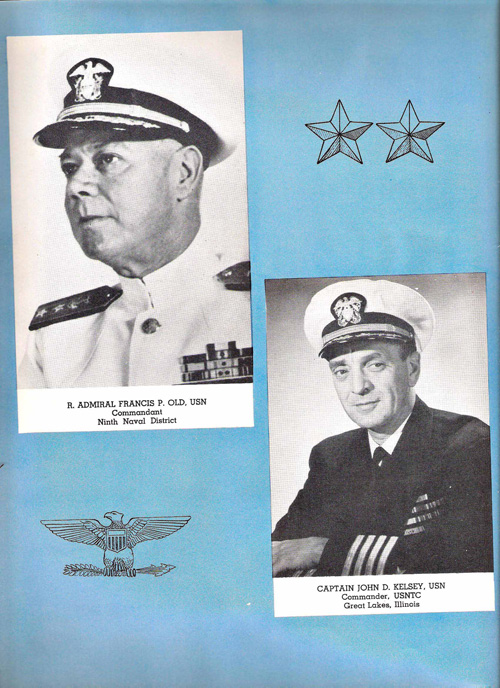 1953 Company 39 USNTC Great Lakes Commanders Page 1