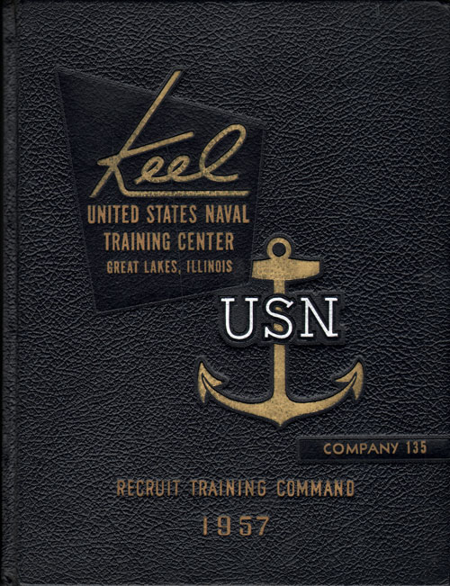 1957 Company 135 Great Lakes US Naval Training Center Roster - The Keel