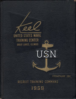 1959 Company 384 Great Lakes US Naval Training Center Roster - The Keel