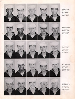 1959 Company 384 USNTC Great Lakes Recruits Page 3