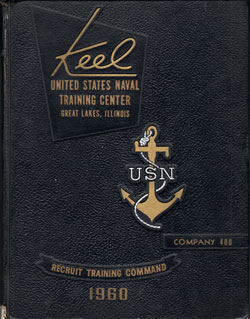 Front Cover, Navy Boot Camp 1960 Company 400 The Keel