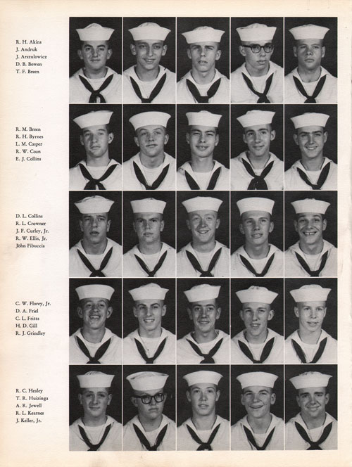 1960 Company 400 USNTC Great Lakes Recruits Page 2