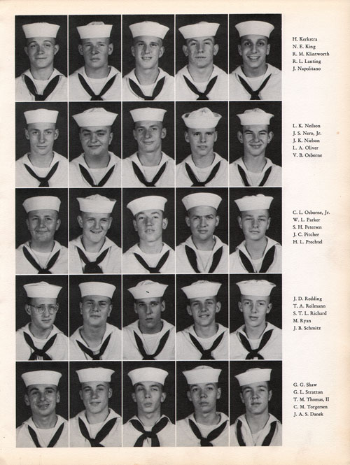 1960 Company 400 USNTC Great Lakes Recruits Page 3