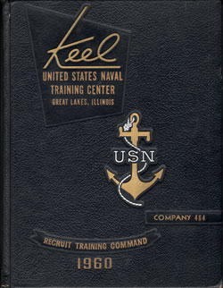 Front Cover, Navy Boot Camp 1960 Company 464 The Keel