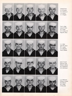 1960 Company 464 USNTC Great Lakes Recruits Page 3