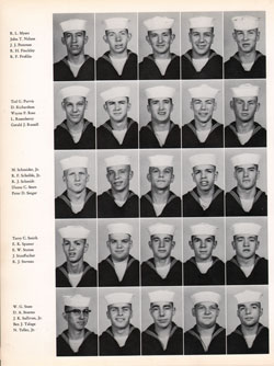 1960 Company 464 USNTC Great Lakes Recruits Page 4