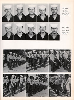 1960 Company 464 USNTC Great Lakes Recruits Page 5