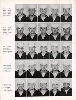 1961 Company 69 USNTC Great Lakes Recruits Page 2