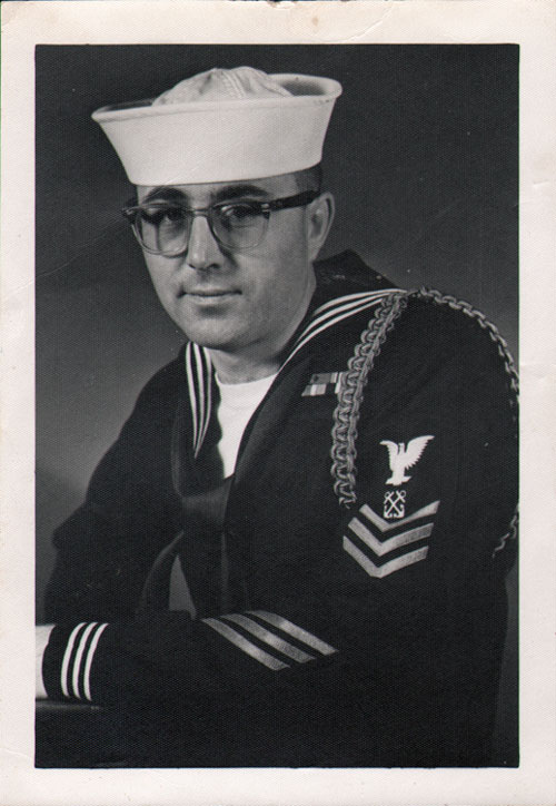 Large Portrait Photo - Company 61-493 Commander R E Discoe BM1