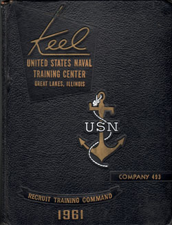 1961 Company 493 Great Lakes US Naval Training Center Roster - The Keel