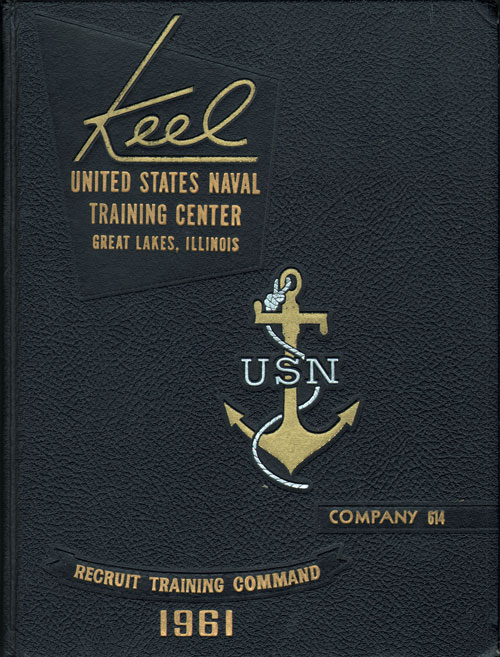 USNTC Keel Yearbook Company 614 1961-62