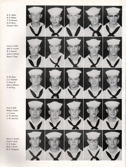 1961 Drill Company 5922 USNTC Great Lakes Recruits Page 2