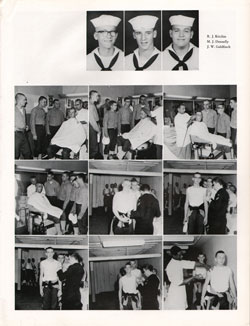 1961 Drill Company 5922 USNTC Great Lakes Recruits Page 3