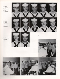 1961 Drill Company 5923 USNTC Great Lakes Recruits Page 2