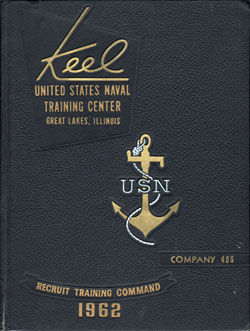 1962 Company 486 Great Lakes US Naval Training Center Roster - The Keel