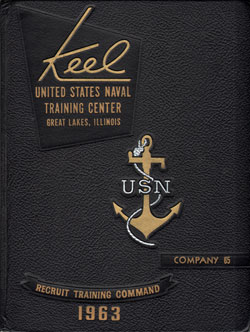 1963 Company 065 Great Lakes US Naval Training Center Roster - The Keel
