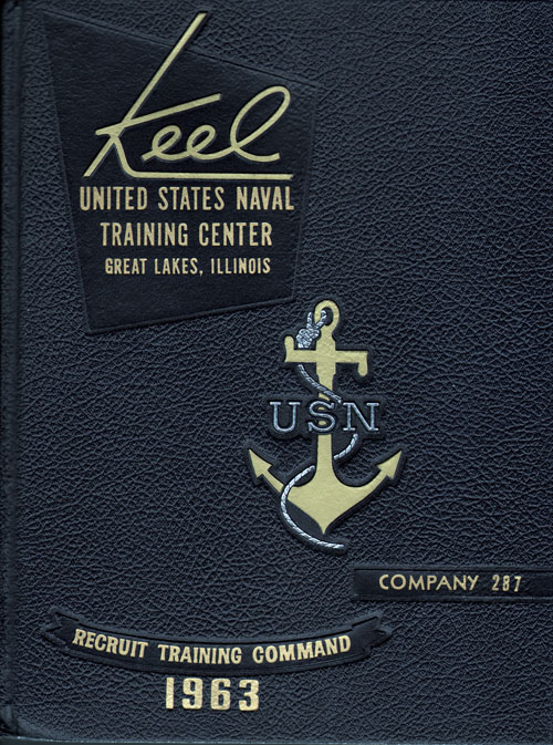 1963 Company 287 Great Lakes US Naval Training Center Roster - The Keel