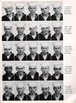 Recruits, USNTC Great Lakes Company 64-015, Page Three