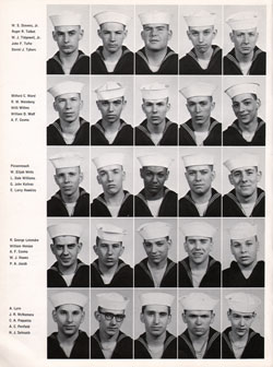 Recruits, USNTC Great Lakes Company 64-015, Page Four