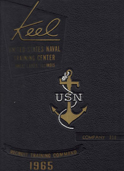 Front Cover, Navy Boot Camp 1965 Company 356 The Keel
