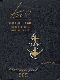Front Cover, Navy Boot Camp 1965 Company 453 The Keel