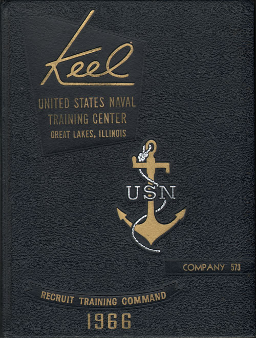 1966 Company 573 Great Lakes US Naval Training Center Roster - The Keel