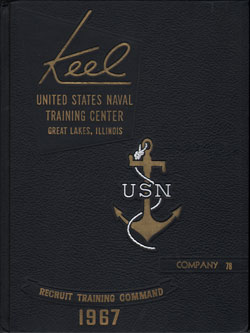 Front Cover, Navy Boot Camp 1967 Company 078 The Keel