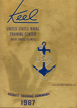 Front Cover, Navy Boot Camp 1967 Company 229 The Keel