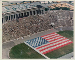 Flag Day at Soldier's Field