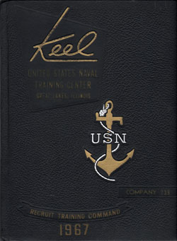 Front Cover, Navy Boot Camp 1967 Company 239 The Keel