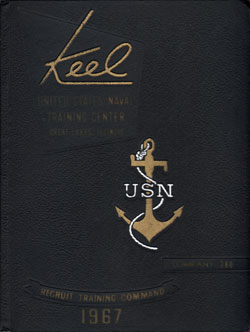 Front Cover, Navy Boot Camp 1967 Company 380 The Keel