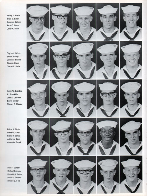 Great Lakes USNTC Company 67-380 Recruits, Page 2