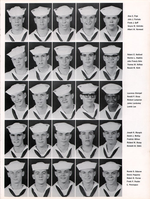 Great Lakes USNTC Company 67-380 Recruits, Page 3