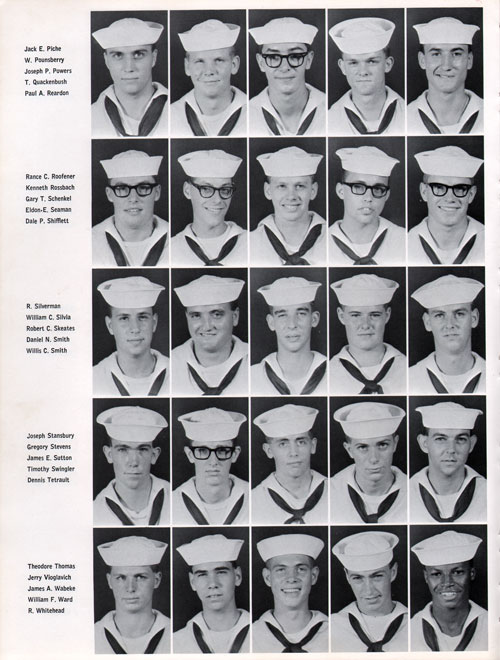 Great Lakes USNTC Company 67-380 Recruits, Page 4