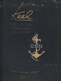 Front Cover, Navy Boot Camp 1967 Company 640 The Keel