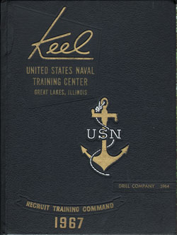 Front Cover, Navy Boot Camp 1967 Drill Company 5964 The Keel