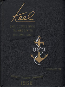 Front Cover, Navy Boot Camp 1968 Company 178 The Keel