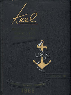 Front Cover, Navy Boot Camp 1968 Company 208 The Keel