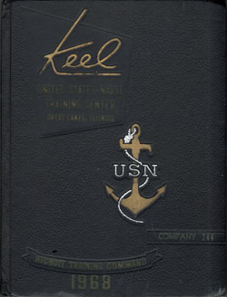 Front Cover, Navy Boot Camp 1968 Company 244 The Keel