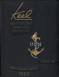 Front Cover, Navy Boot Camp 1968 Company 336 The Keel