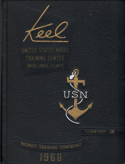 USNTC - Great Lakes - The Keel - Company 336 Yearbook 1968