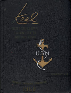 Front Cover, Navy Boot Camp 1968 Company 443 The Keel