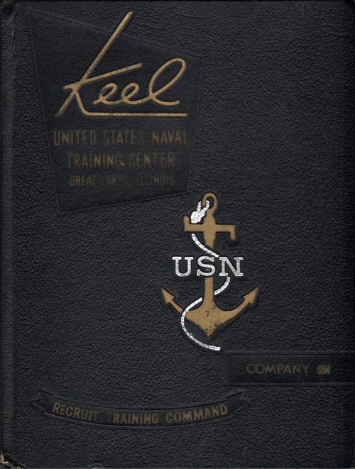 USNTC - Great Lakes - The Keel - Company 694 Yearbook 1969