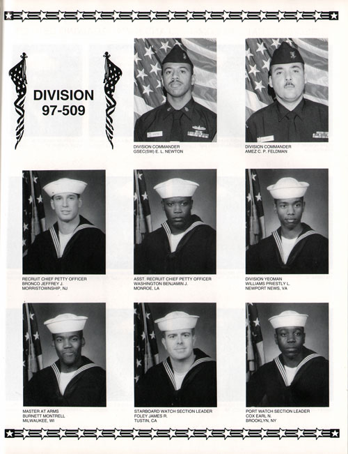 Division 97-509 Recruits Page One