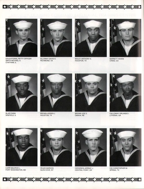 Navy Boot Camp 1997 Division 510 The Keel Gg Archives