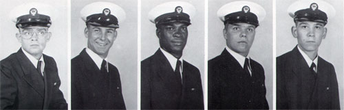 Row 8: Kevin Hopper, Donald Howard, Lorenzo Jackson, John Janutis, Bobby Johnson