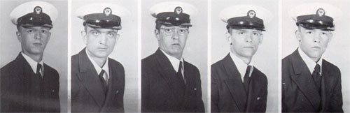 Row 13: William Tuck, William Walley, David Walters, Michael Walters, Joseph Watts
