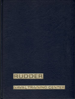 1974 Company 385 Orlando USNTC Recruit Yearbook Roster - The Rudder